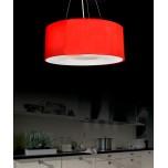 LAMPA WISZĄCA GLOBUS RED