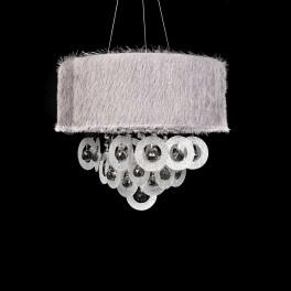LAMPA WISZĄCA LDP 9139 SILVER