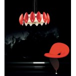 LAMPA NOWOCZESNA FRASCATTI  D55  RED