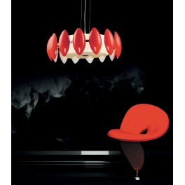 LAMPA NOWOCZESNA FRASCATTI  D55  RED