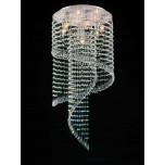 LAMPA SUFITOWA Z KRYSZTAŁAMI   LDC 7053 - 7