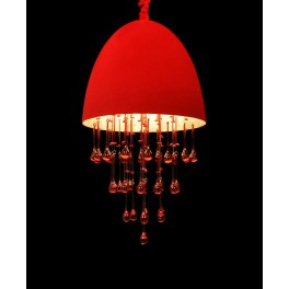 LAMPA WISZĄCA  LA MORENA   RED