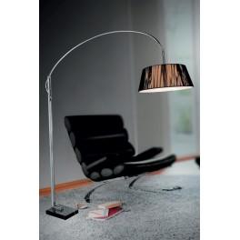 LAMPA  STOJĄCA - PODŁOGOWA   LDF 8011  BLACK