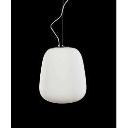 LAMPA WISZĄCA  SZKŁO  LAZZIATE  WHITE