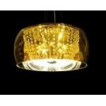 LAMPA NOWOCZESNA   LDP 7018 - D50 GOLD