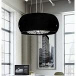 LAMPA NOWOCZESNA   LDP 7018 - D50  BLACK