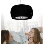 LAMPA NOWOCZESNA   LDP 7018 - D40  BLACK