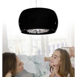 LAMPA NOWOCZESNA  DISPOSA D40  BLACK