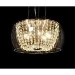 LAMPA NOWOCZESNA   LDP 7018 - D40  CLEAR