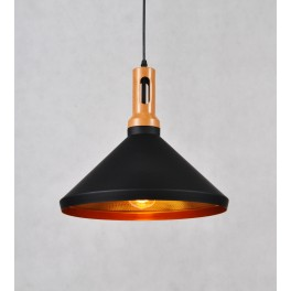 ZWIS LAMPA WISZĄCA  LDP 7868 BLACK+GOLD
