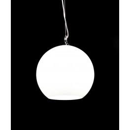 LAMPA WISZĄCA SZKLANA MOLTON WHITE
