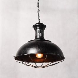 LOFT INDUSTRIALNA LAMPA BOCCATO SILVER