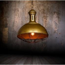 LOFT INDUSTRIALNA LAMPA BOCCATO OLD GOLD