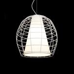 NOWOCZESNA LAMPA WISZĄCA BOLZANO WHITE