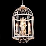 LAMPA WISZĄCA KRYSZTAŁOWA  ARCHIVIA WHITE