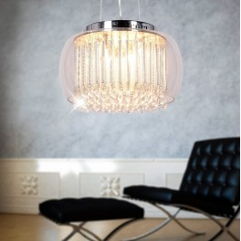 LAMPA NOWOCESNA GUSTO D40 CLEAR