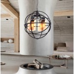 LOFT LAMPA WISZĄCA 11509 - 4 BLACK
