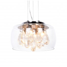LAMPA NOWOCZESNA TOSSO D30 CLEAR