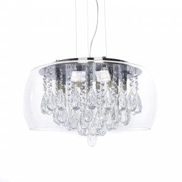 LAMPA NOWOCZESNA TOSSO D50 CLEAR