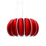 NOWOCZESNA LAMPA WISZĄCA BELLMARIA RED