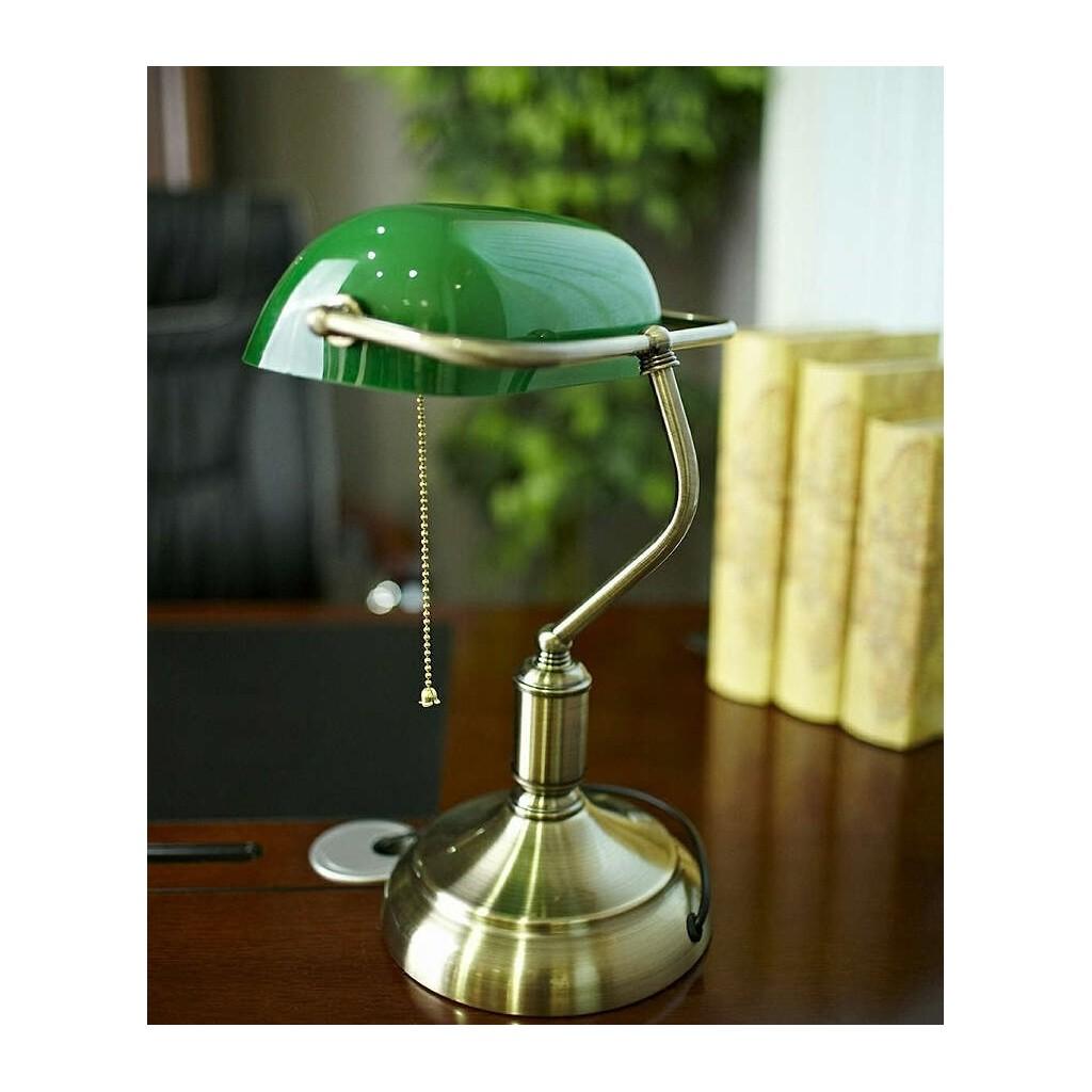 Lampa biurkowa ldt 8822 bankierska lumina - Lampada scrivania ikea ...